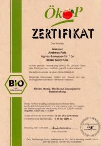 Ökop Zertifikat 2008