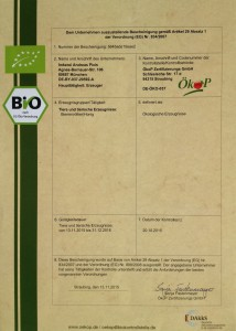 Ökop Zertifikat 2016